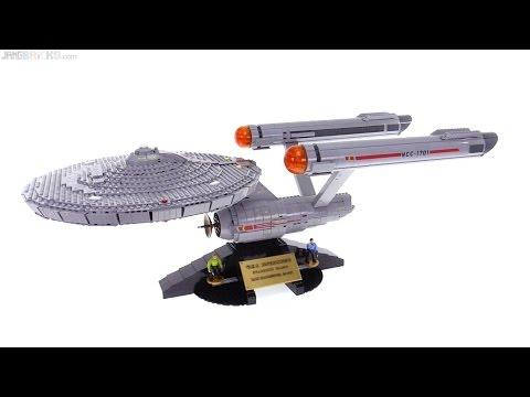 Mega Bloks Star Trek 34 Ncc 1701 Uss Enterprise Review Youtube