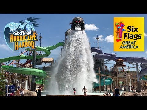 Koaster Kids at Hurricane Harbor Six Flags Great America