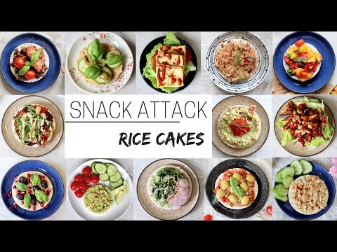 EASY VEGAN SNACKS » for after school & work (rice cakes part 2)