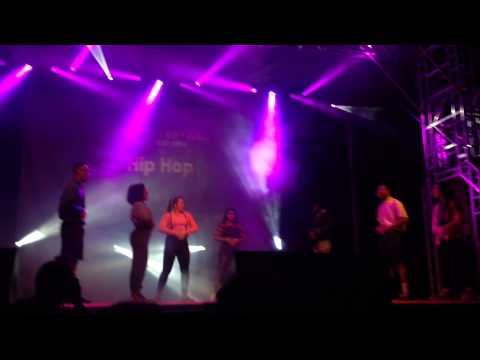 HipHop and Break Dance Society Campus Fest Performance 2014