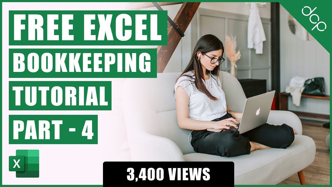 Bookkeeping for Small Business – Excel Tutorial – Part 4 – VAT Calculations