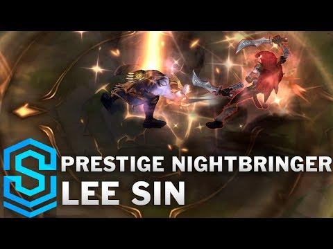 Prestige Nightbringer Lee Sin Skin Spotlight - League of Legends