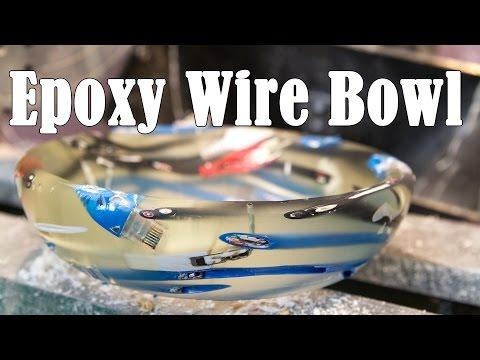 Epoxy Wire Bowl