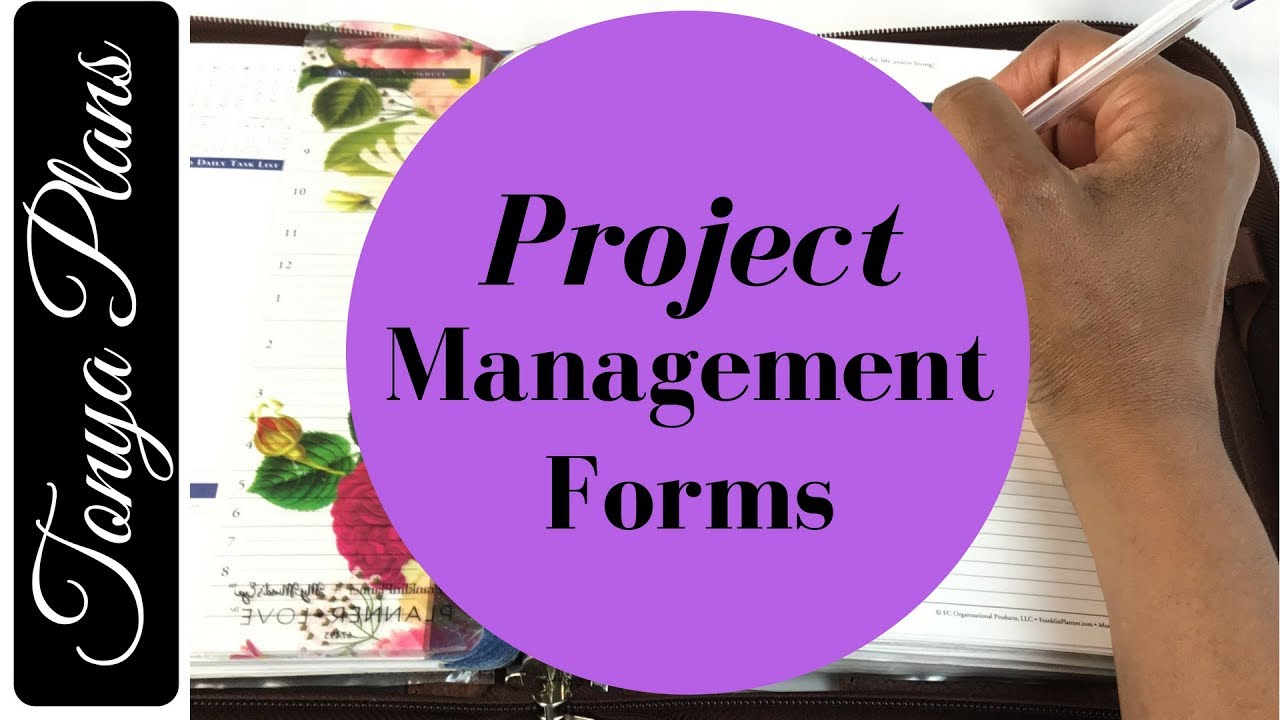 franklin covey templates pdf - project management forms and template format examples