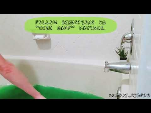 Ooze Baff Slime Bath!!