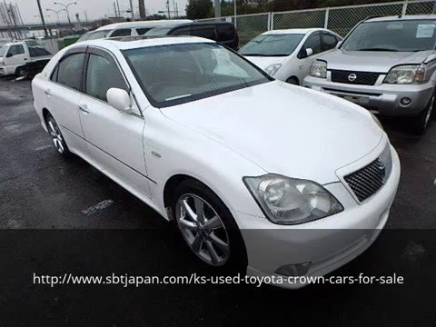 Used Toyota Crown Cars For Sale Sbt Japan Youtube