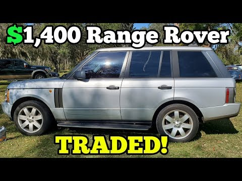 Trading a $1,400 Auction Range Rover with Catastrophic Damage! Here's what I was Offered for it...
