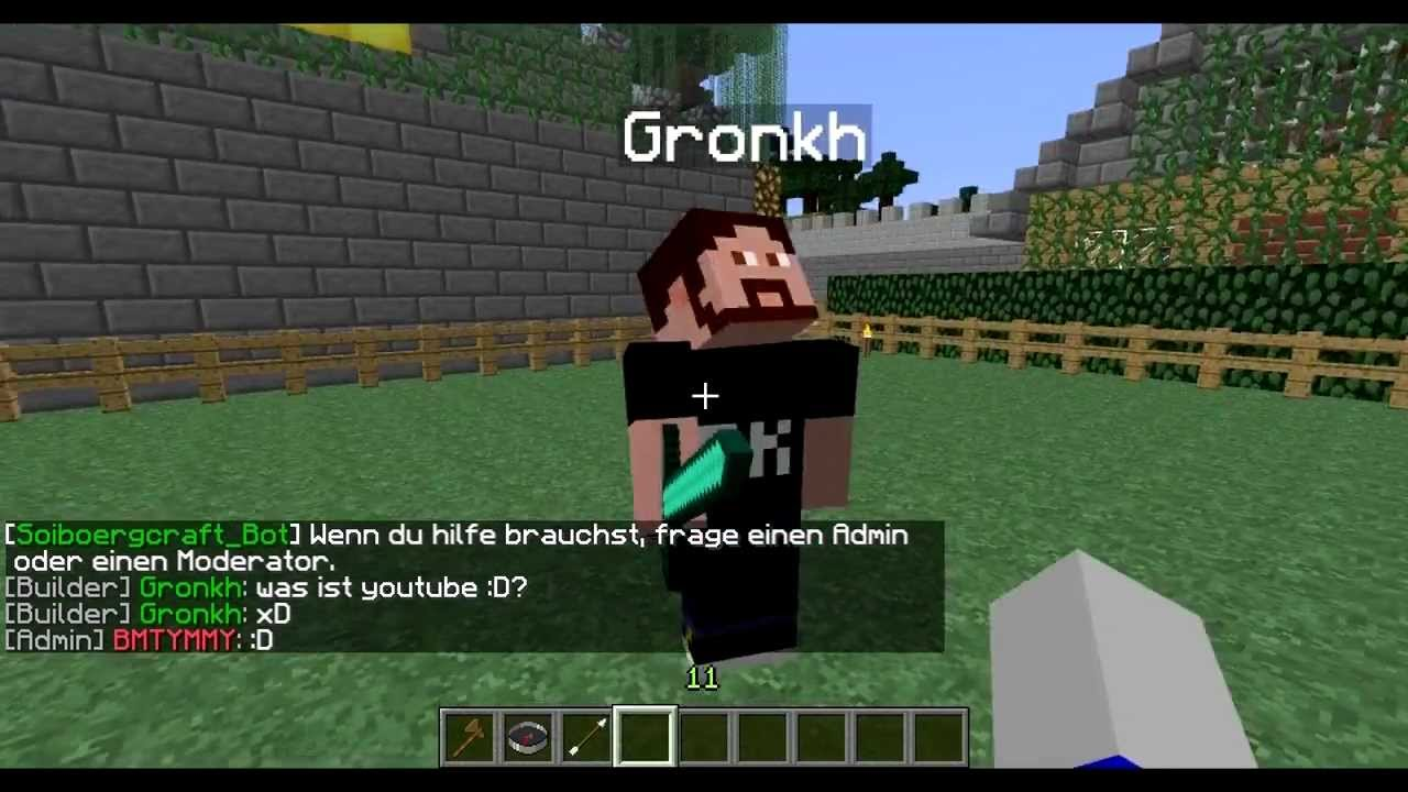 Gronkh Auf Minecraft Server Must See YouTube - Minecraft hauser gronkh