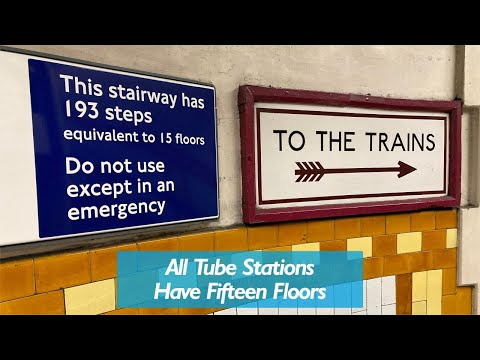 All Tube Stations Have Fifteen Floors