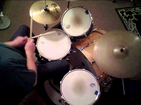 "Jon Biggs Pork Pie Drums "" Apeman "" - drum cover"