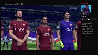 Live do jogo FIFA 19 Modo carreira com o Real Madrid Primeira Temperada. #2#