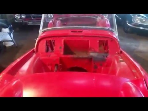 Triumph Tr3 Project For Sale South African Import Youtube