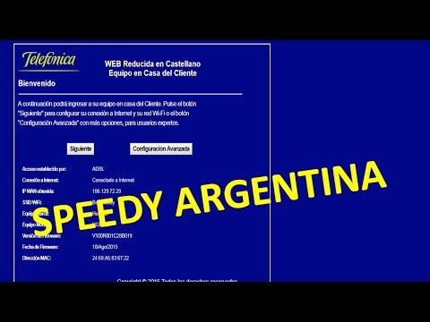 Cambiar contraseña del Wifi SPEEDY ARGENTINA