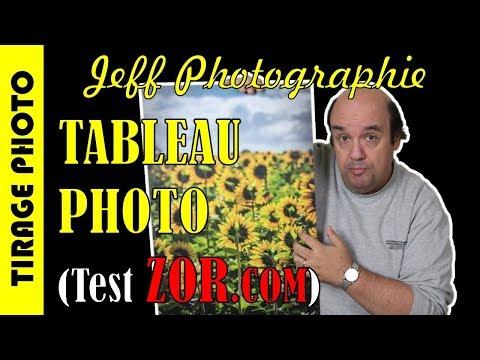 Test Impression Tableau Photo avec ZOR.com - Episode n°218