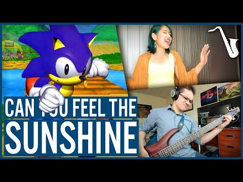 Sonic R: Can You Feel the Sunshine? - Jazz Cover || insaneintherainmusic