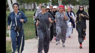 لأول مرة في السعودية.. عباءات رياضية تساعد النساء على ممارسة الركض في الطلق