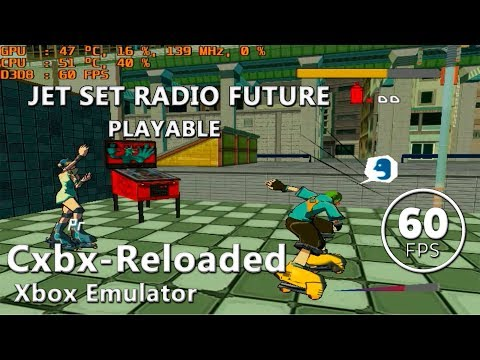 Cxbx-Reloaded | Jet Set Radio: Future (Playable / 60 FPS)