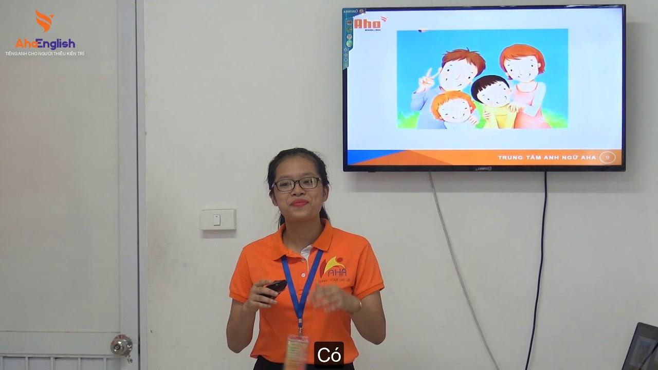 THUYẾT TRÌNH BẰNG SLIDE Nguyễn Phương Mai | Tiếng Anh giao tiếp AHA