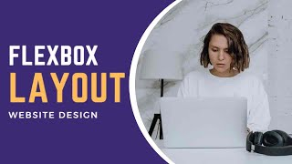 Simple Website layout with Flexbox   CSS3 Flexbox Page Layout Tutorial
