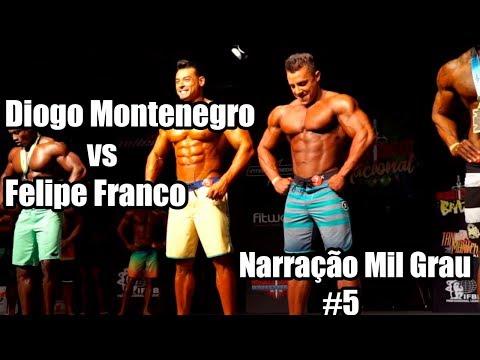 DIOGO MONTENEGRO VS FELIPE FRANCO - NARRAÇÃO MIL GRAU