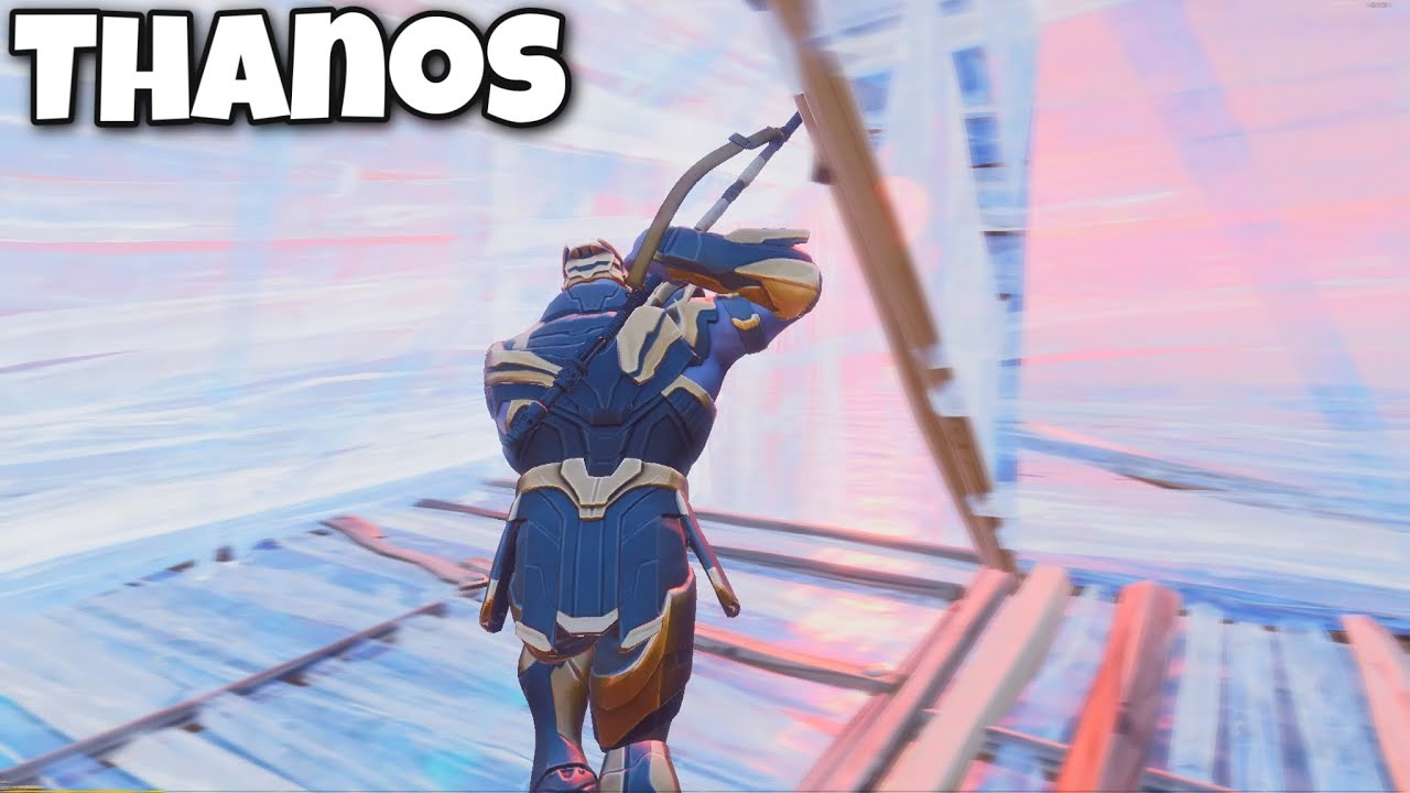 I Tried Making a Fortnite Montage as THANOS...