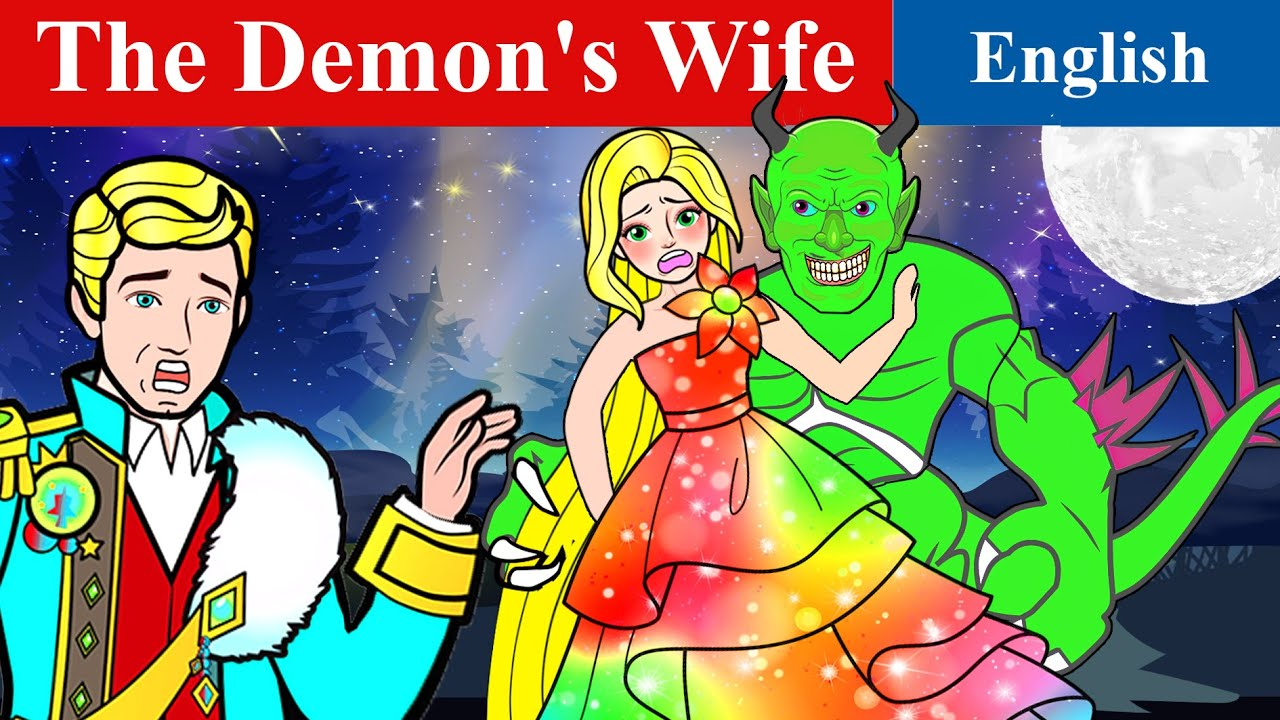 The Demon's Wife Story | Stories for Teenagers | Paper Dolls English Fairy Tales