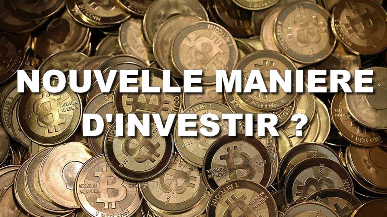 UNE NOUVELLE MANIERE D'INVESTIR DANS LES CRYPTOMONNAIES !