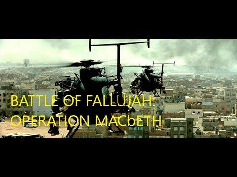 Battle of Fallujah   Operation MacBeth