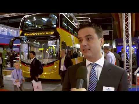 Busworld Europe 2017 - Alexander Dennis Limited (ADL)