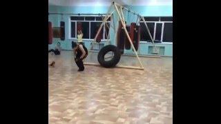 Kickboxing for girls! Кикбоксинг для девушек в Алматы! Титан(, 2016-02-11T09:50:16.000Z)