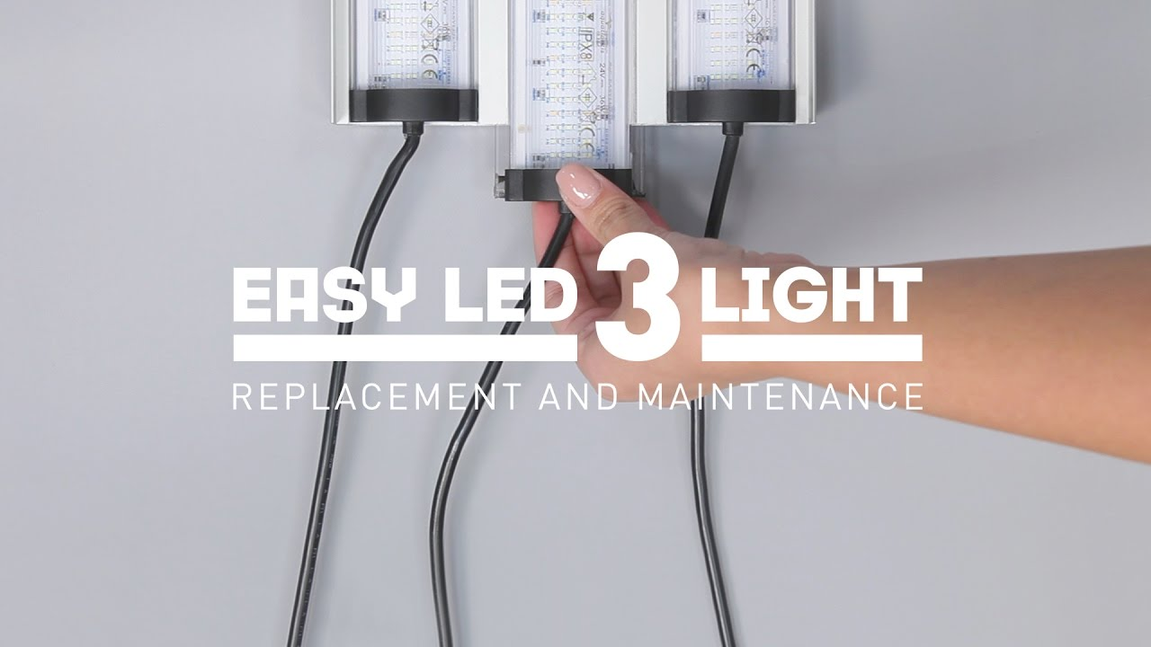 Easy Led Easy Led 3 Light Replacement And Maintenance