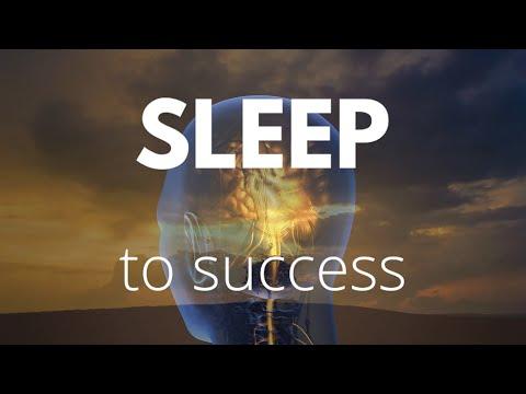 SLEEP TO SUCCESS Guided sleep meditation, Create success while you sleep deeply, Be successful