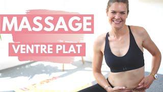 Routine MASSAGE 💆🏼 5 minutes pour un VENTRE plus PLAT !