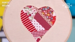Coração para Molduras – Costura com Riera Alta