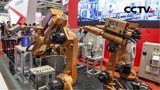 《新中国的第一》 第一批工业机器人   CCTV