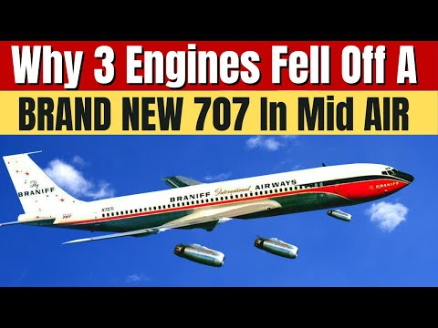 How A Brand New Boeing 707 Had 3 Engines Severed Mid Flight And Lost the 4th Engine, How'd They Land
