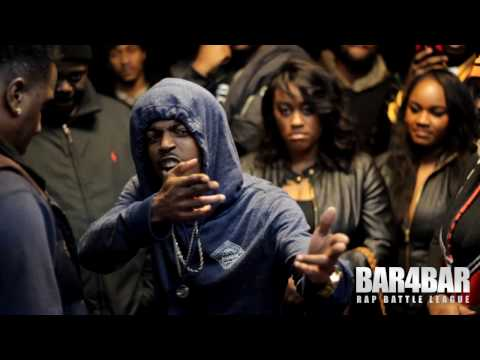 BAR4BAR RAP BATTLE LEAGUE PRESENTS - PRINCE CITY VS YOUNG SMURF