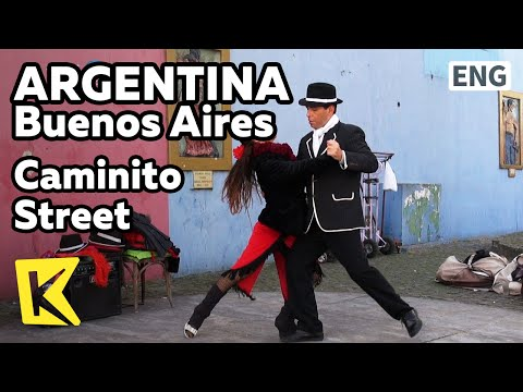 【K】Argentina Travel-Buenos Aires[아르헨티나 여행-부에노스아이레스]카미니토 거리 탱고의 유혹/Caminito Street/Tango