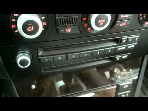 how to remove the navigation screen on a bmw e60 youtube. Black Bedroom Furniture Sets. Home Design Ideas