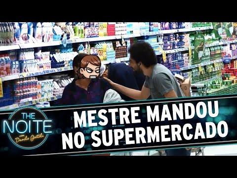 The Noite (23/09/15) - Mestre Mandou no Supermercado