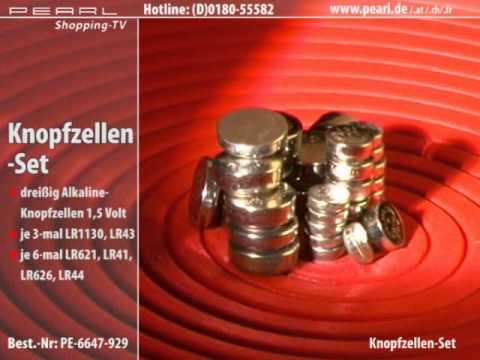 knopfzellen im mega sparpack 30st ck lr41 lr43 lr44 lr621. Black Bedroom Furniture Sets. Home Design Ideas