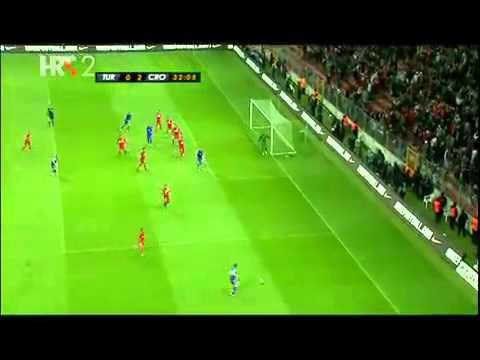 Turska - Hrvatska 0 : 3 Svi Golovi (Cosic komentira samo slusajte... :) )  11.11.11