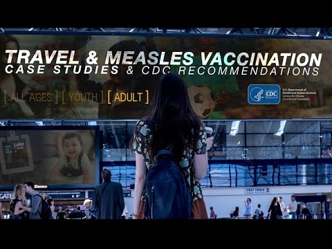 Travel & Measles Vaccination: A Case Study On A Pregnant Woman And A Man