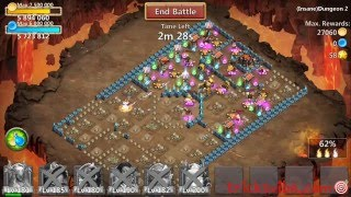 castle clash insane dungeon 2 1 without mino sm f2p heroes only