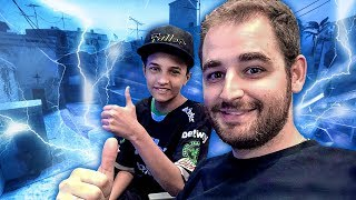 O sonho do Caio! Jogamos CS na Google c/ Make-A-Wish
