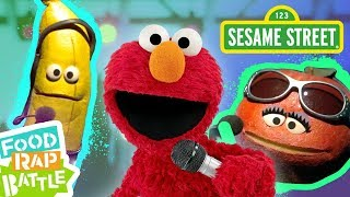 Sesame Street: Apple vs. Banana feat. Tavi Fields & Phonte Coleman  | Elmo's Food Rap Battle