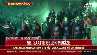 İdil Şirin'in İzmir depreminden 58 saat sonra enkazdan mucize kurtarılışı