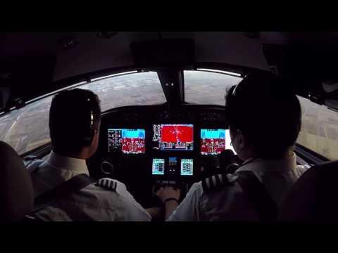 MMTO Approach and Landing - Bombardier Learjet 75