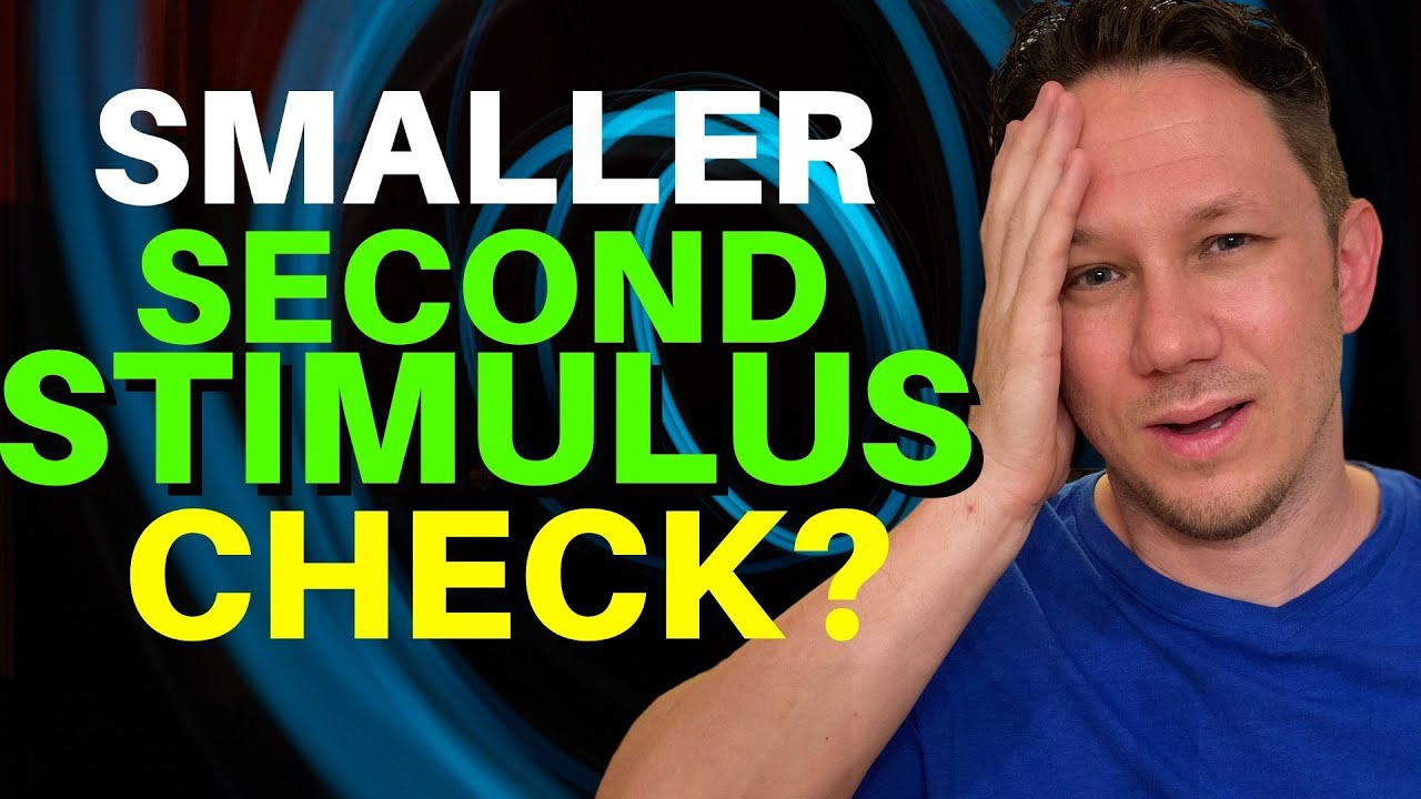 A SMALLER Second Stimulus Check Announced!?!