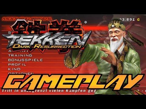 Tekken 5 Dark Resurrection Gameplay Story Mode Psp Wang